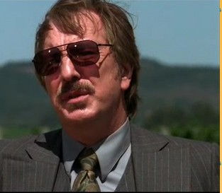 Alan Rickman as Steven Spurrier in Bottle Shock