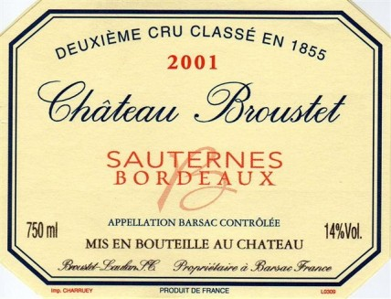 Chateau Broustet