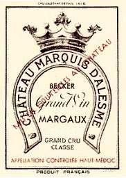 Chateau Marquis Becker