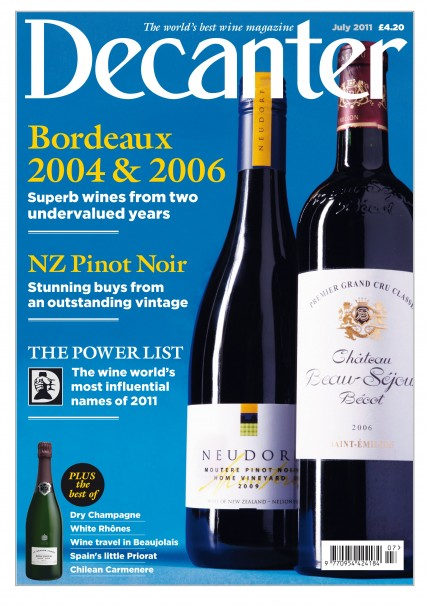 Decanter July Issue