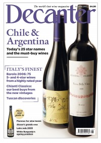 Decanter Magazine August