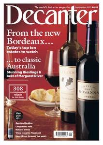 Decanter magazine September 2011