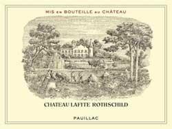 Chateau Lafite Rothschild Pauillac Bordeaux 1er cru classe