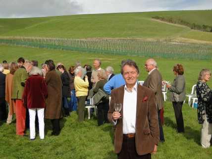 Steven Spurrier vineyard