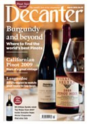 march, march 2012, magazine cover, cover, decanter
