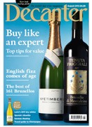 Decanter August 2012 cover