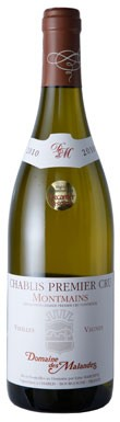 Chablis 2010, Dom Des Malandes Montmains