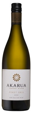 New Zealand whites,Akarua Pinot Gris 2009