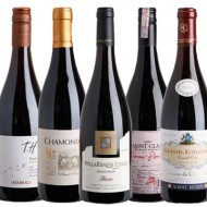 Top five Pinot Noir