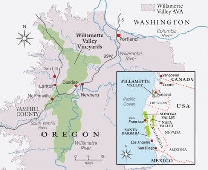 travel, Oregon big map