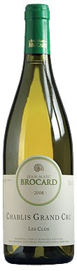 Domaine Jean Marc Brocard, Grand Cru Chablis 2008, chablis, chablis 2008, 