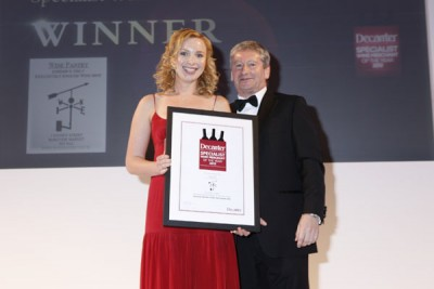 The Wine Panty win Specialist Wine Merchant of the Year