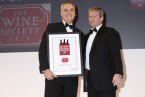 The Wine Society wins National Wine Merchant of the Year