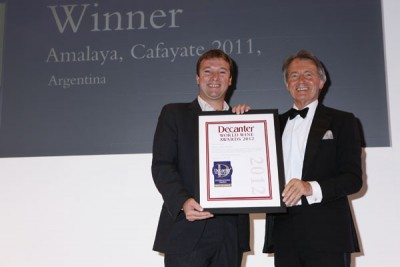 Amalaya wins a DWWA International Trophy