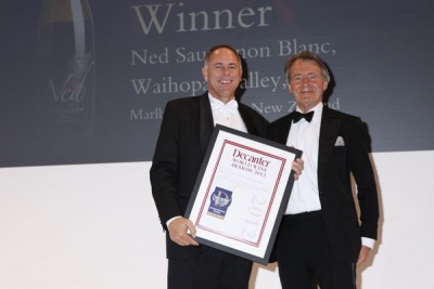 Ned wins a DWWA International Trophy