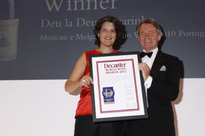Deu La Deu wins a DWWA International Trophy