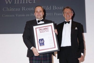 Chateau Routas wins a DWWA International Trophy