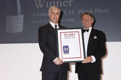 Undurraga wins a DWWA International Trophy