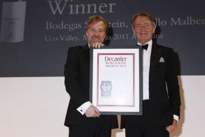 Bodegas Salentein wins a DWWA International Trophy