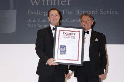 Bellingham wins a DWWA International Trophy