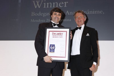 Bodegas Santa Ana wins a DWWA International Trophy