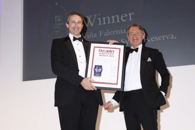 Vina Falernia wins a DWWA International Trophy