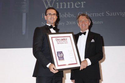 Paul Hobbs wins a DWWA International Trophy