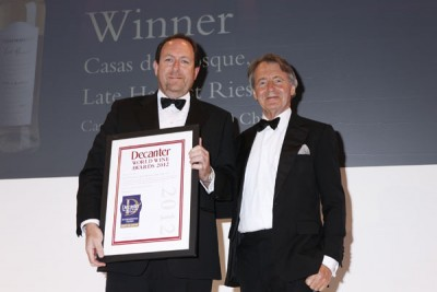 Casas del Bosque wins a DWWA International Trophy