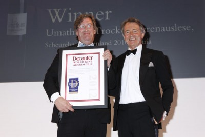 Umathum wins a DWWA International Trophy