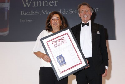 Bacalhoa wins a DWWA International Trophy