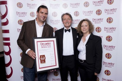 DWWA 2012 Regional Trophy winners