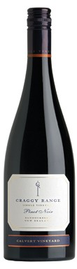 new zealand pinot noir 2010, Craggy Range Calvert