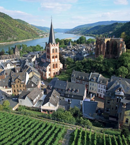 travel, Middle Rhine, Germany, Rhine