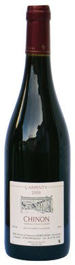 weekday wines, Chinon L'Arpenty 2009