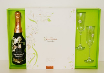 Belle Epoque champagne gift set christmas gift guide