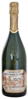 Vintage champagne, champagne, Marie Noelle Ledru Brut Grand Cru 1992