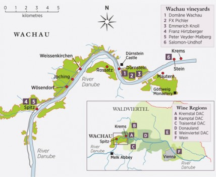Wachau large map