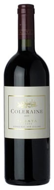 Cabernet Sauvignon, Te Mata Coleraine New Zealand 2009 