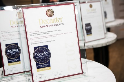 Decanter Asia Wine Awards press conference
