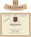 2002 Marimar Estate, Cristina Pinot Noir, Don Miguel Vineyard, Russian River Valley