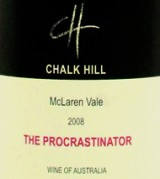 2008 Chalk Hill, The Procrastinator, McLaren Vale