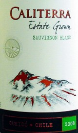 2008 Caliterra, Estate Grown Sauvignon Blanc, Curico Valley