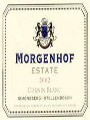 2010 Morgenhof	Estate, Chenin Blanc