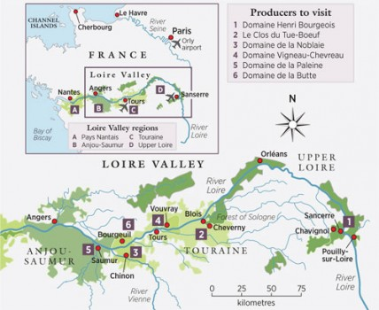 Loire big map