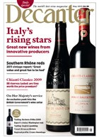 Decanter May homepage