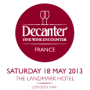 Decanter French Encounter 2013
