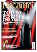 Decanter January 2014 cover