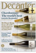 Decanter March 2015 cover